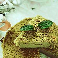 抹茶戚风蛋糕,蛋糕界的小清新!