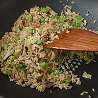 腊肉香菇炒糙米饭#美的初心电饭煲#的做法图解10