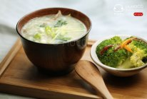 养肝补血-猪肝菠菜粥的做法