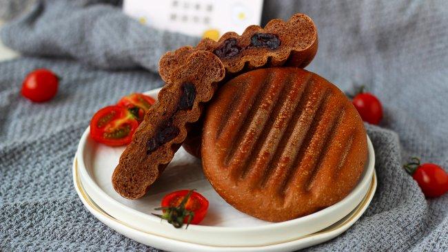 可可蔓越莓华夫饼(面团版)的做法
