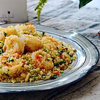 避风塘大虾-没有蒜酥怎样做出这道香港名菜?#给老爸做道菜#