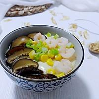 虾仁香菇昆鱼蛋