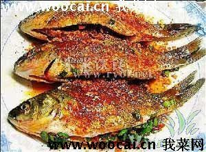 微波炉烤鲫鱼
