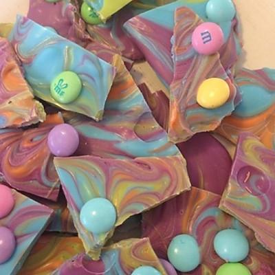 彩色糖果巧克力