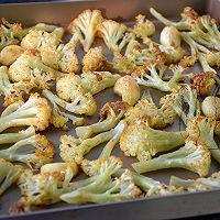 咖喱烤菜花 #Gallo橄露橄榄油#的做法图解7
