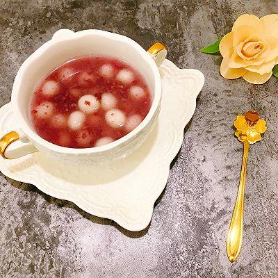 紫米酒酿小丸子