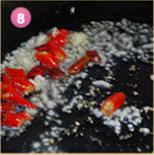 川香莴笋辣子鸡的做法图解8