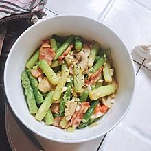 #花10分钟,做一道菜!#【越の厨】——芦笋配培根