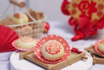 中式酥点——红豆酥皮饼的做法