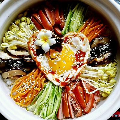 韩式石锅拌饭(超有爱的滋味)
