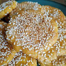 芝麻飘香之南瓜饼