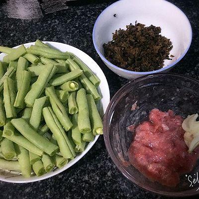 腌菜菜谱煸四季豆的做法_肉末_豆果美食准山剑花可以煲排骨汤吗图片