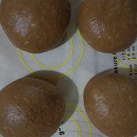#晒出你的团圆大餐#巧克力红豆肉松麻薯软欧的做法图解8