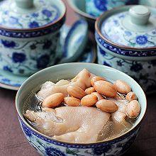 猪蹄花生汤