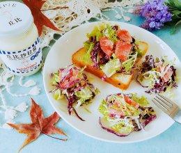 蔬菜沙拉#丘比轻食厨艺大赛#的做法