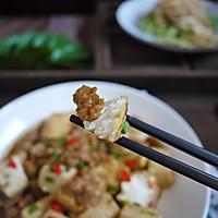 #花10分钟,做一道菜!#肉末豆腐的做法图解8