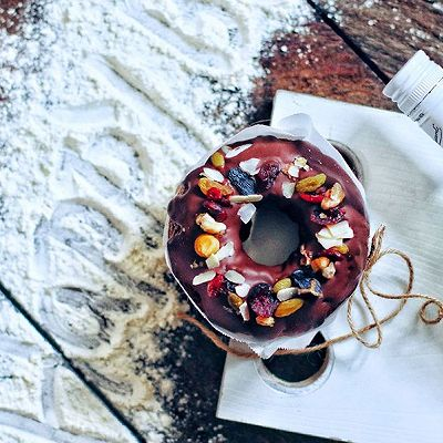 格勒诺布尔(一款可以快递的巧克力核桃生日蛋糕)