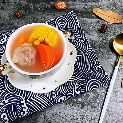 清淡不油腻——玉米胡萝卜薏仁猪展汤的做法 步骤14