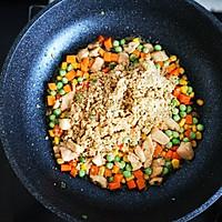 减脂鸡丁杂蔬炒藜麦的做法图解6