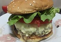 芝士牛肉汉堡的做法