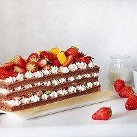草莓裸蛋糕的做法圖解21