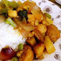 龙利鱼咖喱饭