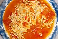 番茄(西红柿)金针菇的做法