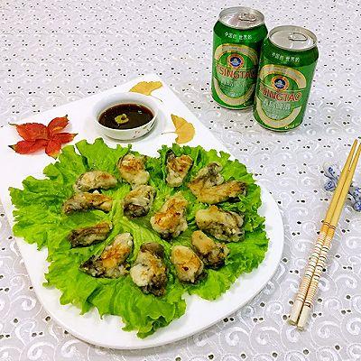 铁板煎牡蛎
