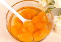 孕妇吃的橘子罐头的做法