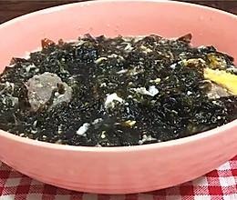 八分钟快手汤:紫菜牛丸鸡蛋汤的做法