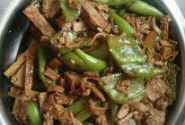 尖椒五香豆腐的做法