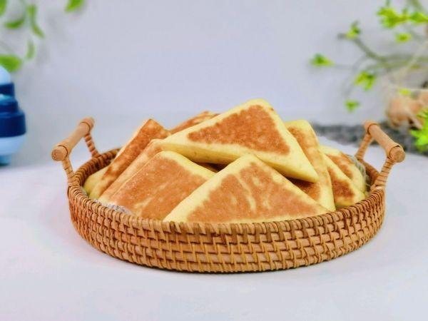 三角喜饼的做法