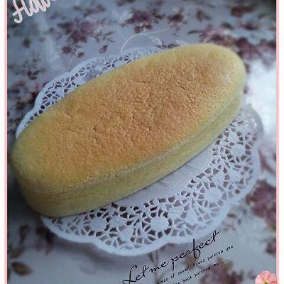 无油酸奶蛋糕  8寸(2个椭圆模 内附6寸配方)