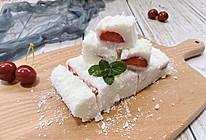 #餐桌上的春日限定#10分钟|高颜值草莓牛奶小方㊙️的做法