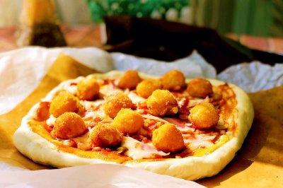 金牌薯泥土豆披萨