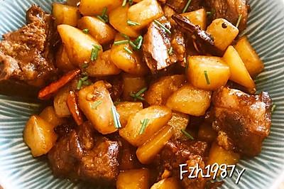 土豆烧肉~超级超级好吃