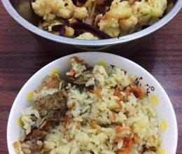 羊肉抓饭(内附解腻小菜)的做法