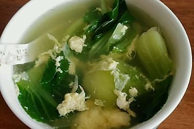 虾皮青菜蛋汤
