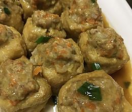 豆腐酿肉的做法