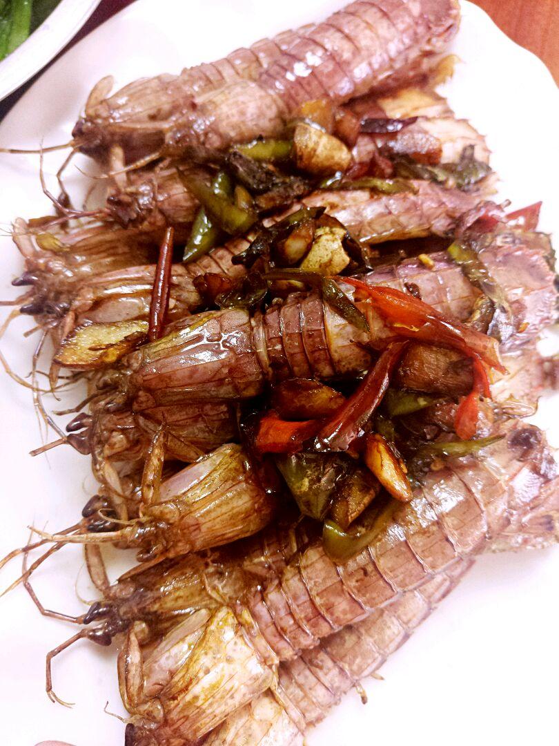 爆炒虾姑皮皮虾的做法步骤