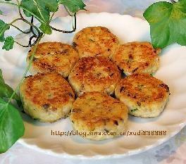 肉末豆腐饼