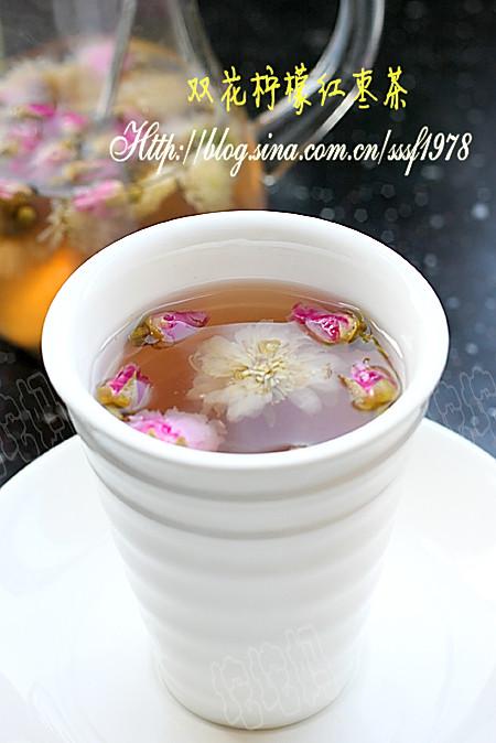 双花柠檬红枣茶的做法