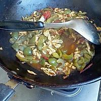 青椒西红柿鸡蛋浇面卤的做法图解2
