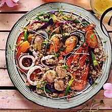 「回家菜谱」——藜麦海鲜沙拉