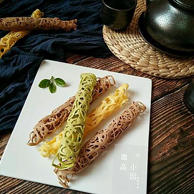 蕾丝蛋卷――高颜值的下午茶小点