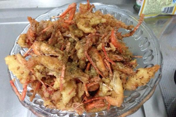 炸河虾的做法