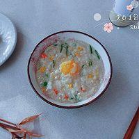 杂菜鸡蛋粟米粥