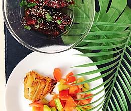 椰子油虾仁青瓜的做法
