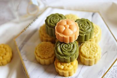 免泡免筛多彩绿豆糕#父亲节,给老爸做道菜#