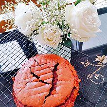 就像做戚风蛋糕那样做个简单的六寸红丝绒蛋糕